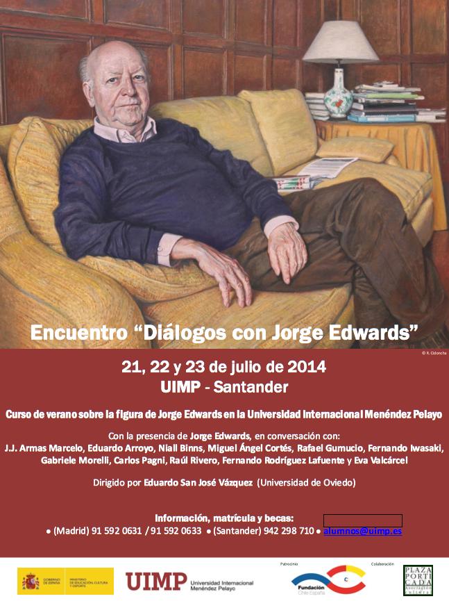 "Encuentro ""Diálogos con Jorge Edwards"""