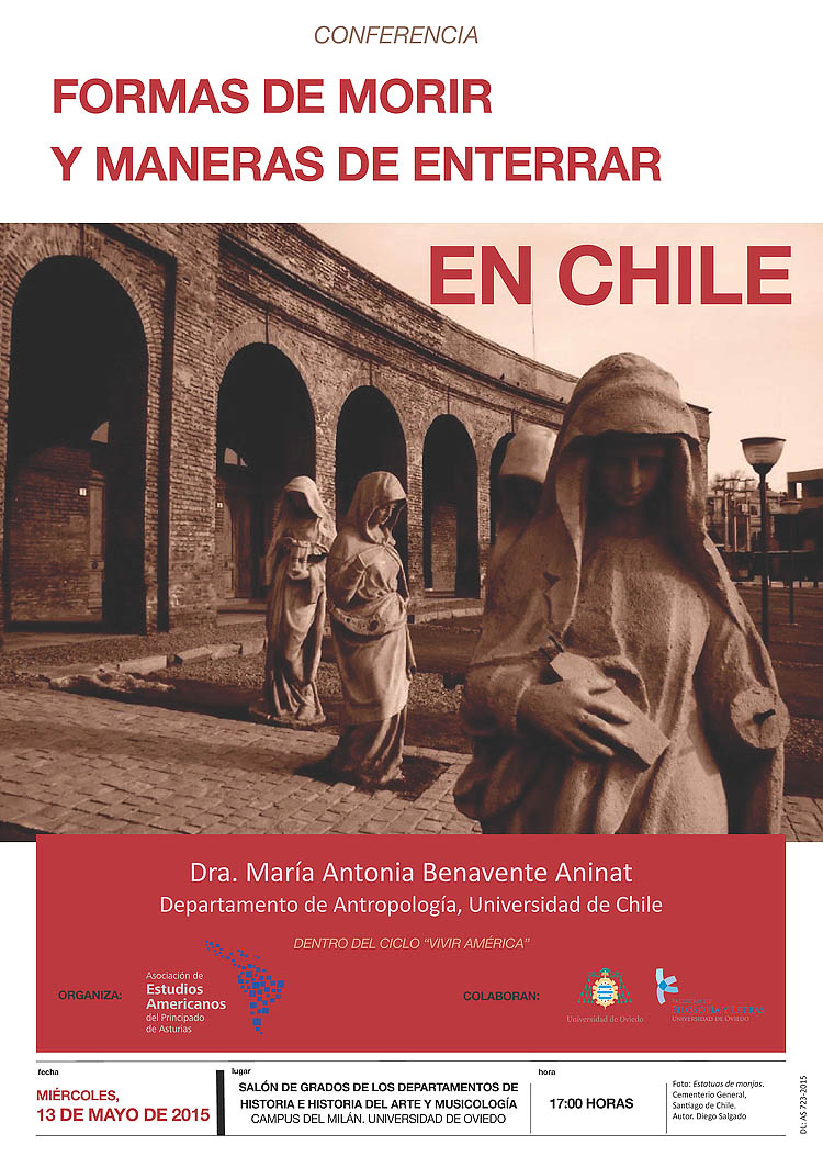 Cartel Morir en Chile foto web